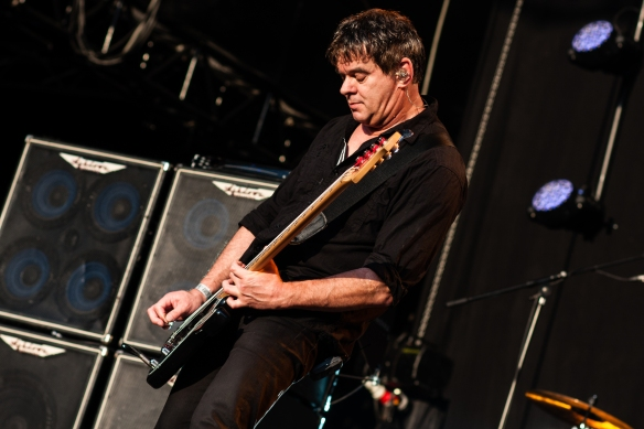 Photo of the Stranglers bass player J-J Burnel