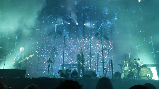 Photo of Sigur Ros playing at Margaret Court Arena